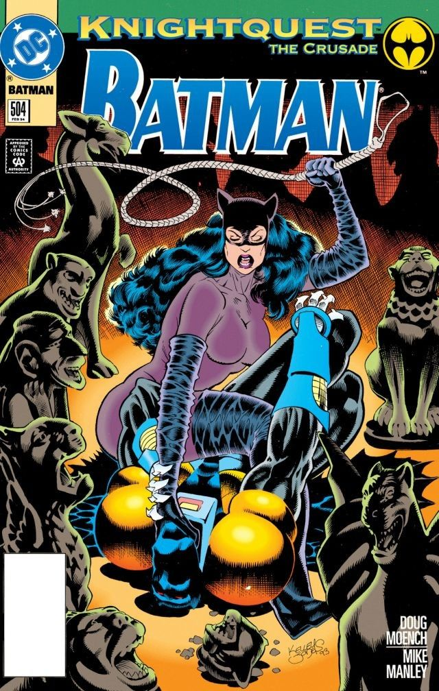 Catwoman and AzBat...in an odd pose