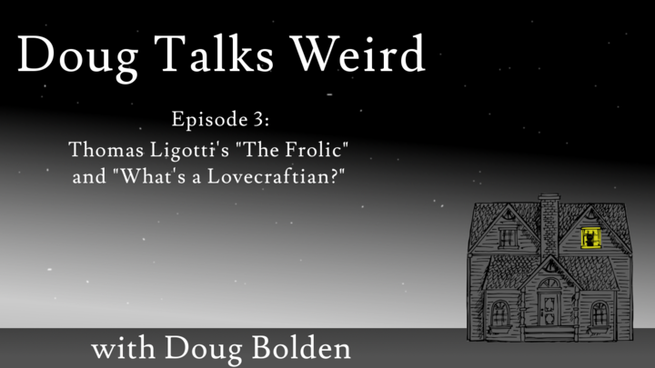 Doug Talks Weird Title Card